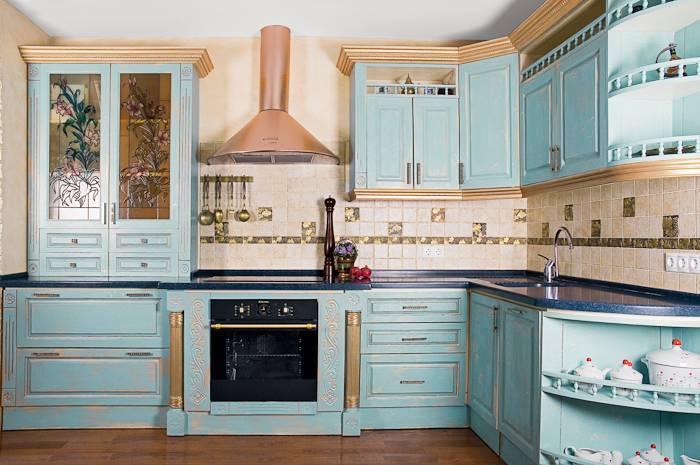 Кухни своими руками в стиле прованс
